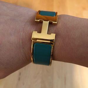 Hermes Jewelry - Hermes H Clic Clac bangle bracelet